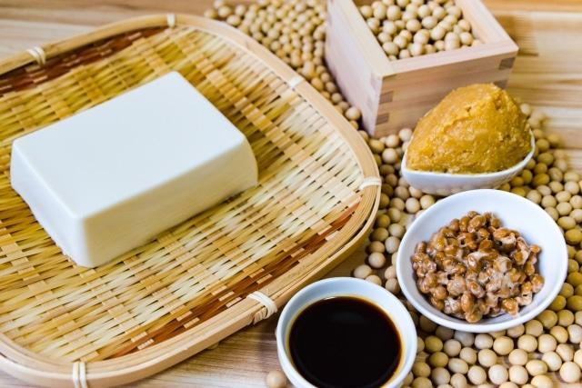 納豆と豆腐