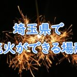 埼玉県で花火ができる場所