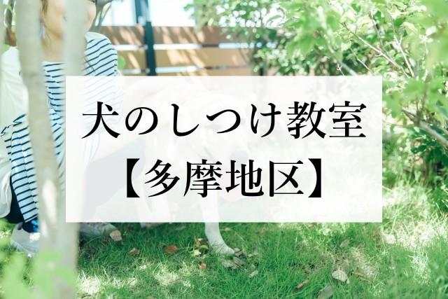 犬のしつけ教室【多摩地区】