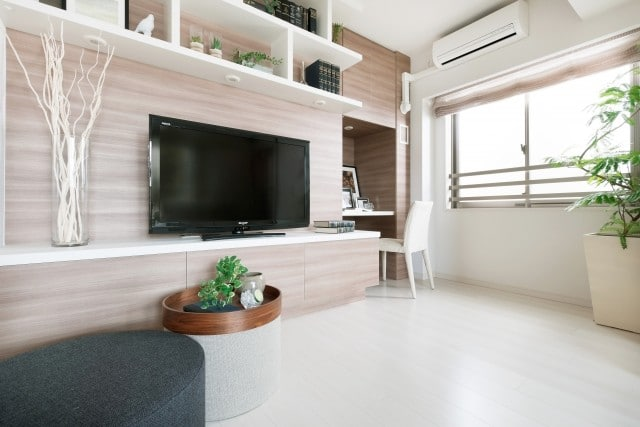 テレビのある部屋